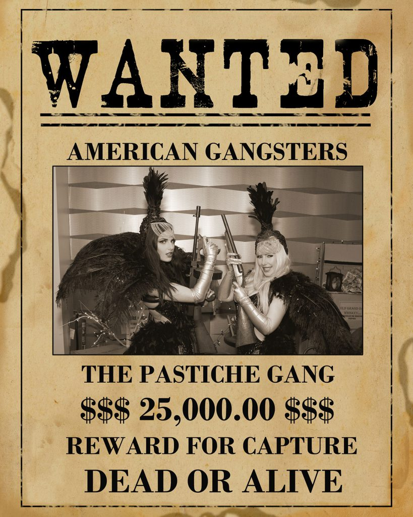1920s Gangster dancers for hire
