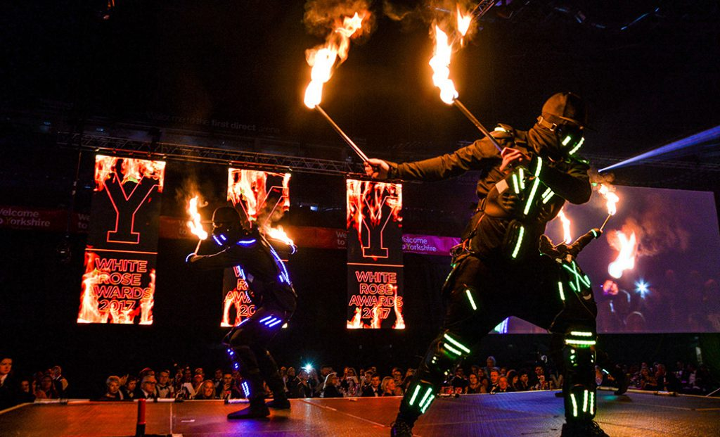 LED Glo Men Dancers