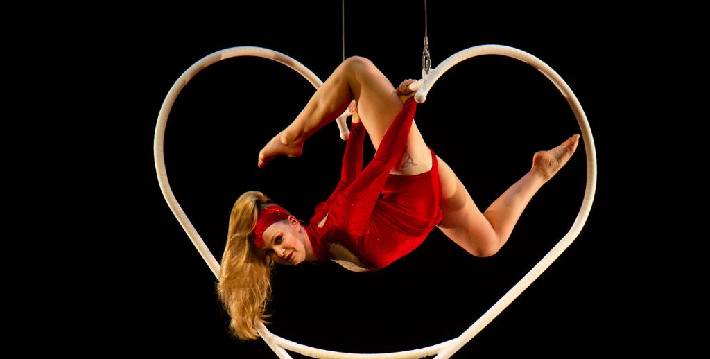 Aerial Heart Aerialist for hire