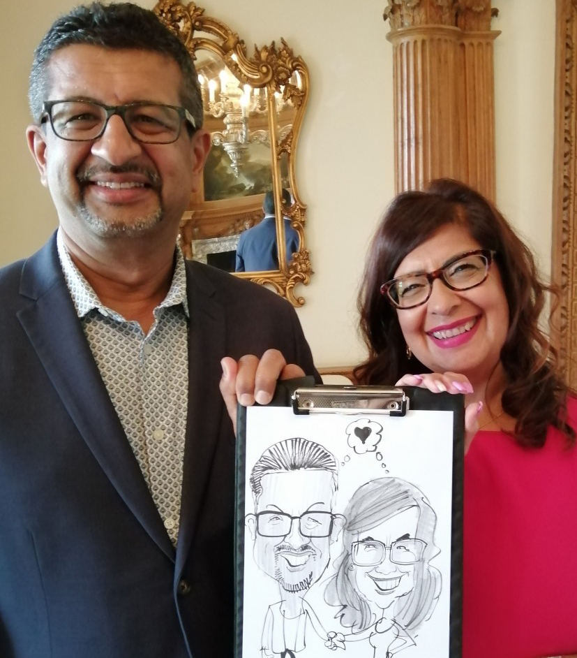 Caricaturist for hire UK