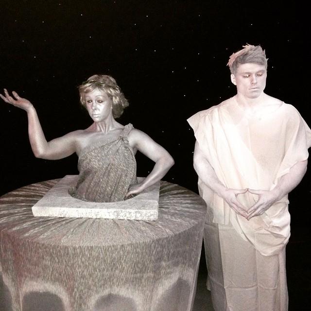 Pastiche Living Statues