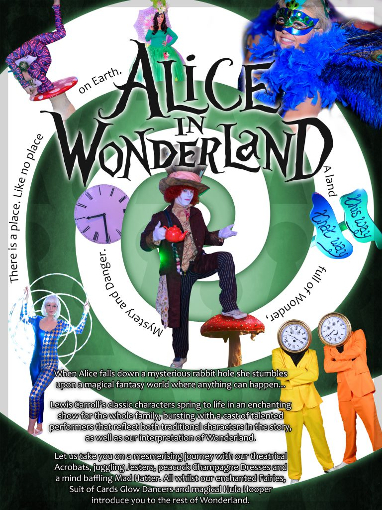 Alice In Wonderland Themed Event Party for hire