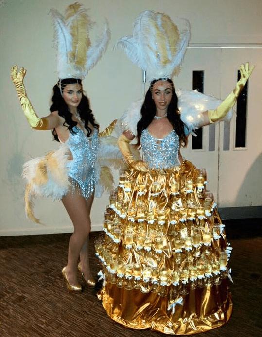 Prosecco Champagne Dress Hostess for hire