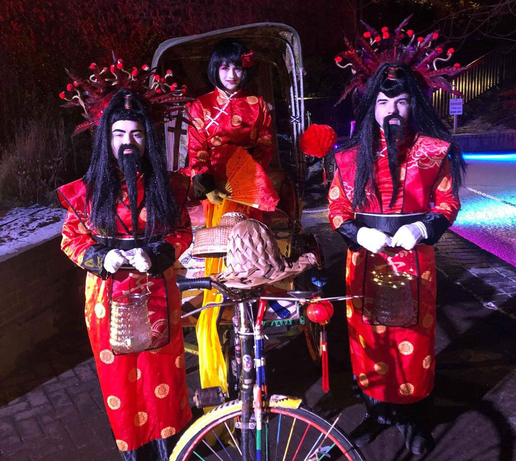 Oriental Chinese Acts for hire