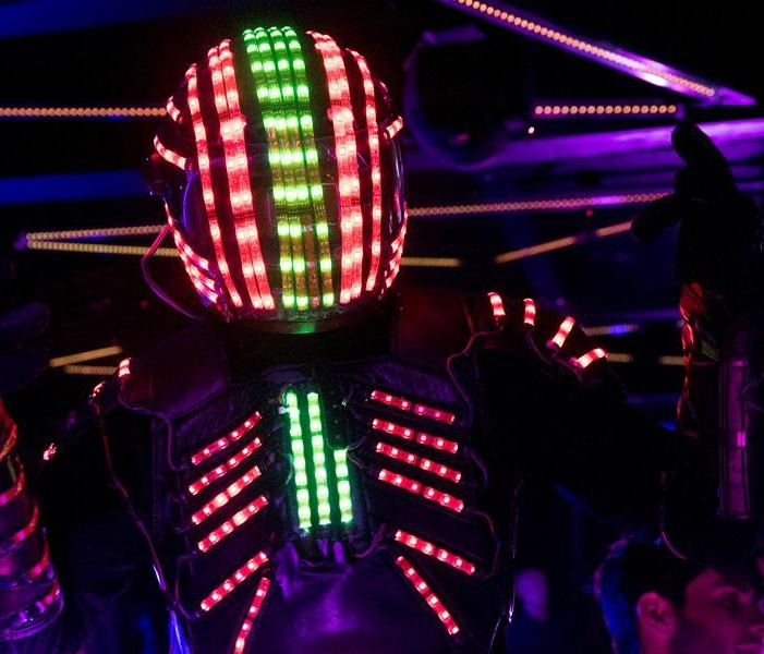 Glowbot Performer Acts for hire