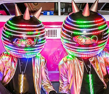 Pixel Heads Performers Acts for hire
