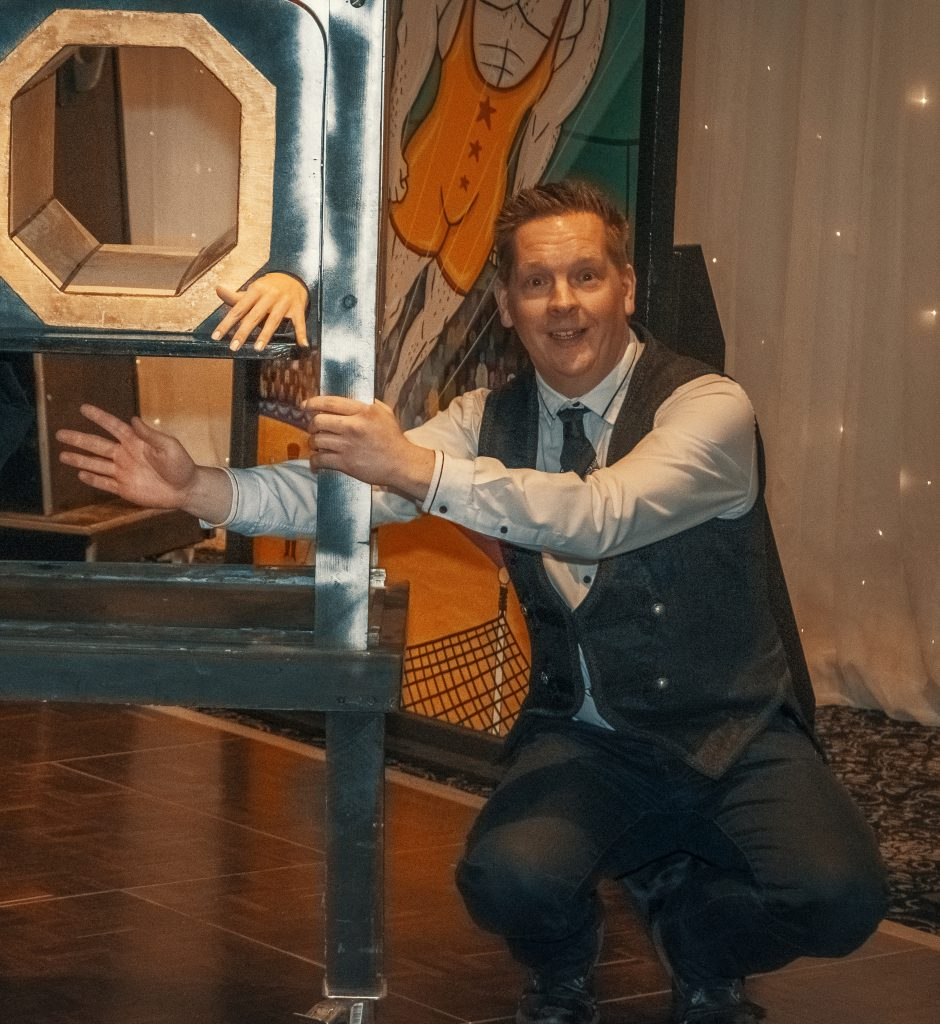 Circus Illusion Show for hire UK