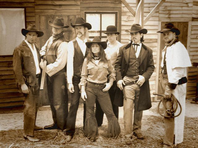 Western Wild West Performers and Theming for hire
