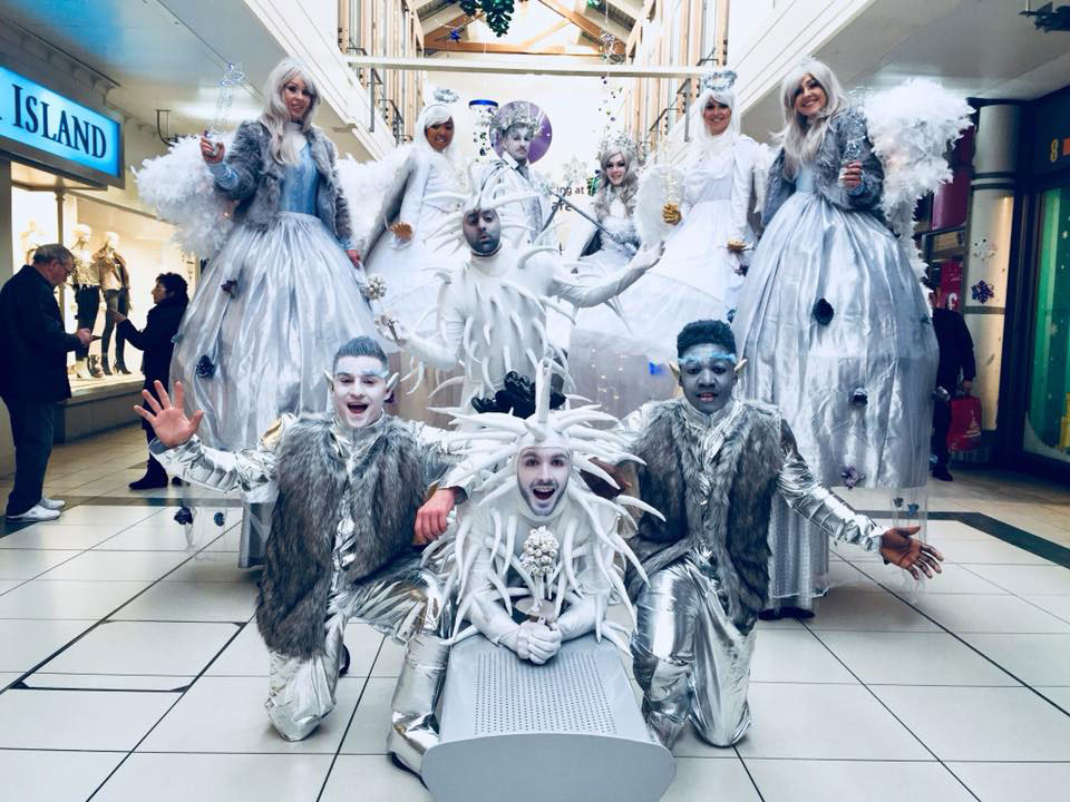 Winter Wonderland Themed Performers for hire