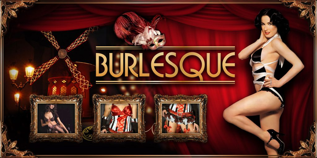 Burlesque Themed Event Party for hire