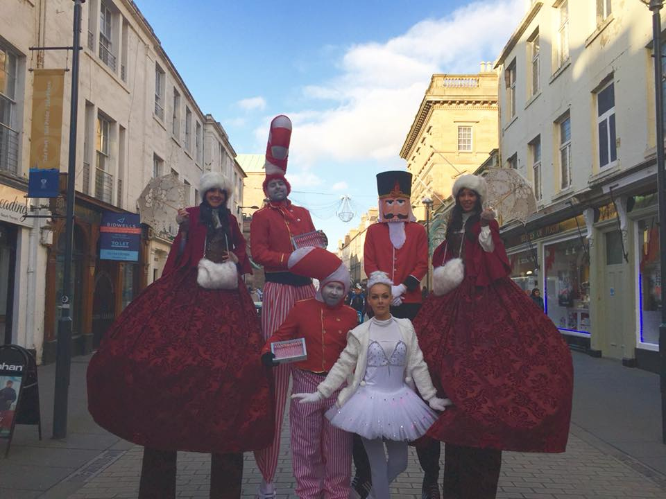 Vintage Victorian Christmas Performers for hire