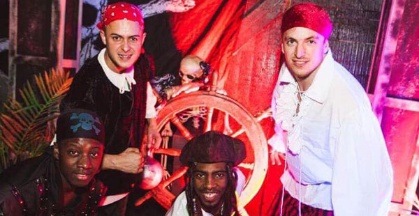Pirates Of The Caribbean themed event for hire