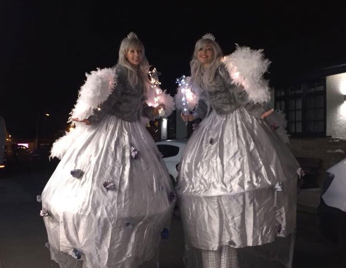 Winter Wonderland Themed Event & Performers for hire