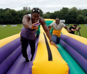 Team Building Fun Day Inflatable hire